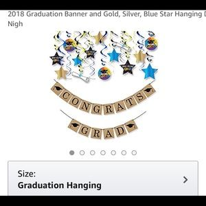Other - Graduation party decorations.